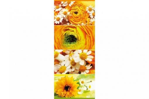 Deko-Banner - Sommerblumen