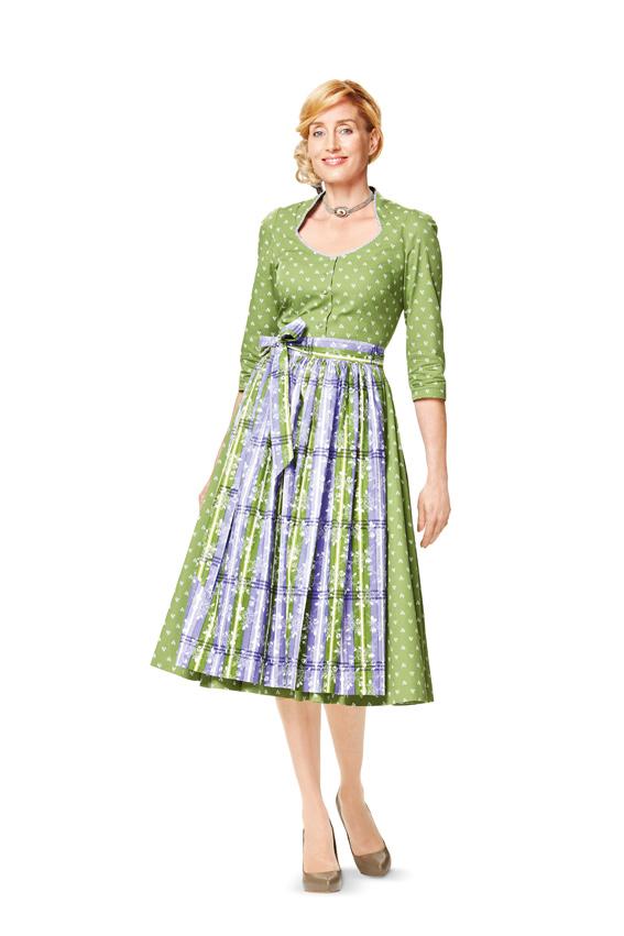 Schnittmuster kleid damen burda